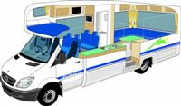 United 6 berth Premier Motorhome